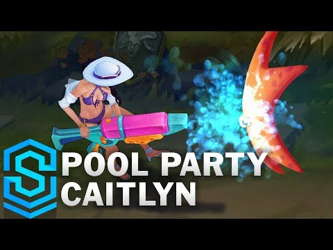 Caitlyn Tiệc Bể Bơi