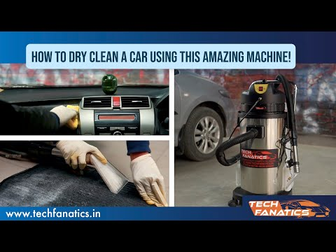 Car Dry - Cleaning Machine