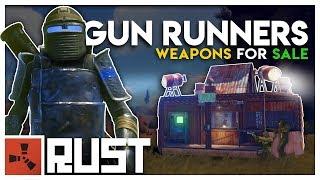 Running a GUN SHOP in a WARZONE - Rust Gun Runners