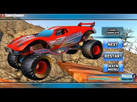 Off Road Racer Monster Truck Stunt Game / 4x4 Racing / Android Gameplay Video