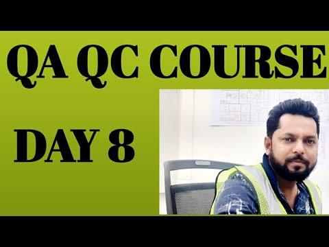 QA QC COURSE - YouTube