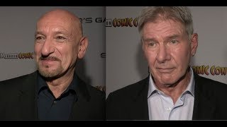 Ender's Game - interviews inc Sir Ben Kingsley, Harrison Ford, Asa Butterfield