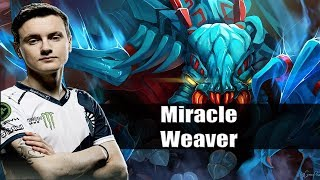 Dota 2 Stream: Liquid vs MangoBay Miracle playing Weaver