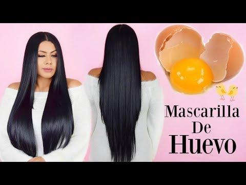 Mascarilla de huevo 🥚Cabello súper suave y brillante en 1 día 💝 Egg hair mask 🥚 Fashionbycarol