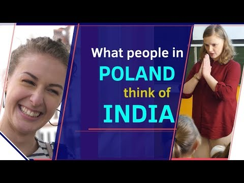 What people in Poland think of India | Karolina Goswami