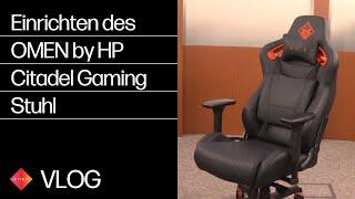 Einrichten des OMEN by HP Citadel Gaming Stuhl: HP How To For You | HP