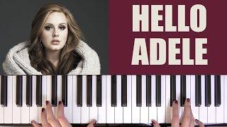 HOW TO PLAY: HELLO - ADELE