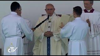 Cuarto día del Papa Francisco en Colombia