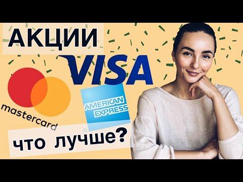 Инвестиции в Visa, MasterCard и American Express - Какая компания лучше?