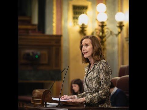 Intervención de Marta González en el Congreso de los Diputados
