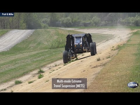Demonstrations Of DARPA's Ground X-Vehicle Technologies