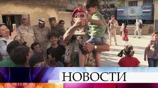 Все больше сирийцев возвращаются на родную землю, освобожденную от террористов.