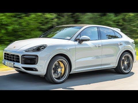 Porsche Cayenne Coupe Кроссовер класса J - тест-драйв 3