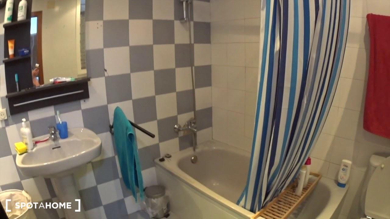 Furnished studio apartment for rent in El Raval