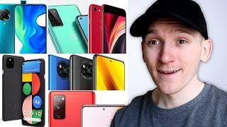Best Mid-Range Smartphones 2020 - $300-$600 Top Picks