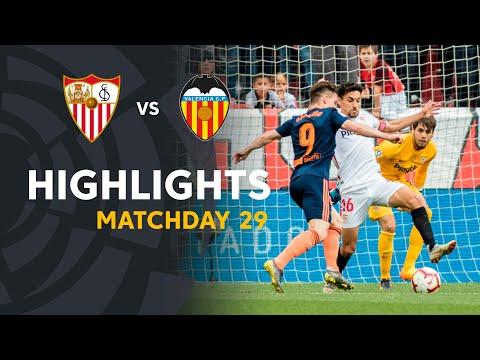Highlights Sevilla FC vs Valencia CF (0-1)