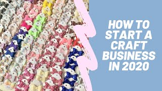 Start A Craft Business - Make Money Selling Your Crafts -  Top Tips To Get Started!