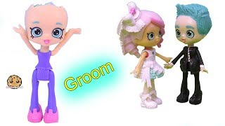 Groom Wedding Shopkins Happy Places Doll Custom ! DIY Painting Video