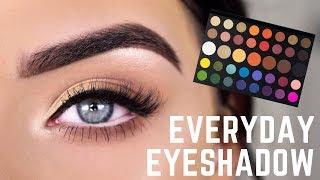 EASY EVERYDAY EYESHADOW   James Charles Palette Eye Makeup Tutorial