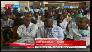 HAPPENING NOW: Doctors and Nurses' countrywide strike begins