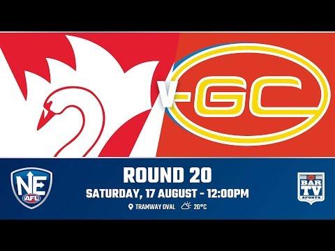 2019 NEAFL - Round 20 - Sydney Swans v Gold Coast