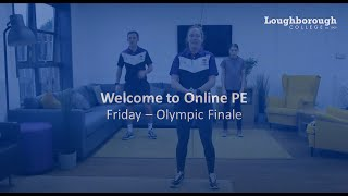 video: Join in with free online PE lessons: Olympics