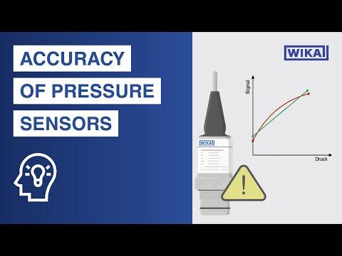 Misure di Pressione, Sensoristica, Strumenti di misura