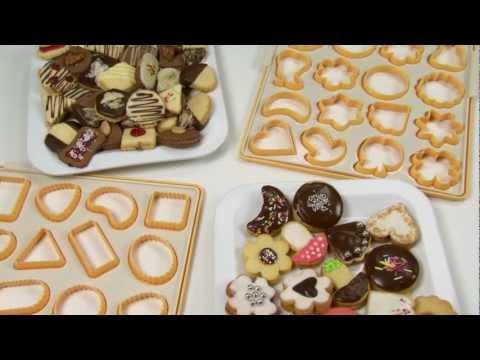Video Vykrajovátka sušenky TESCOMA DELÍCIA, 12 ks 2