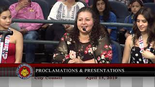 Albuquerque City Council Meeting - April 15th, 2019 - Part 1