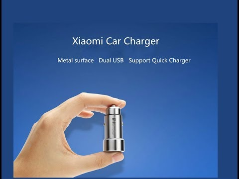 Xiaomi FAST 3.6A USB Car Charger $5.98 (unbox)
