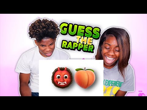GUESS THE RAPPER FROM THE EMOJI CHALLENGE