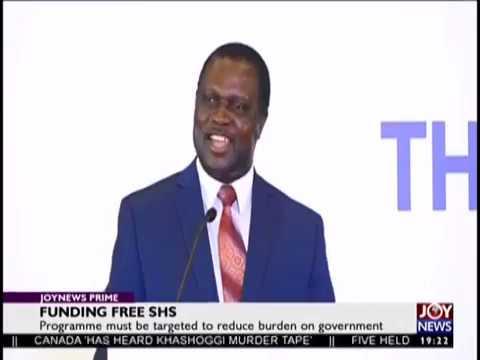 Funding Free SHS - JoyNews Prime (12-11-18)