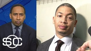 Stephen A. Smith reacts to Tyronn Lue saying players must get rid of agendas | SportsCenter | ESPN