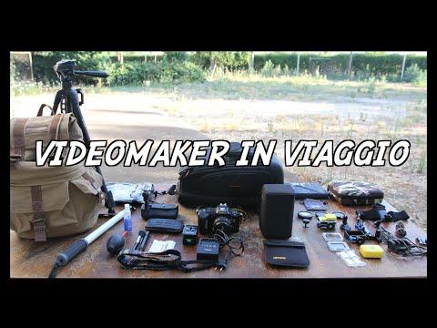 LO ZAINO DEL VIDEOMAKER IN VIAGGIO