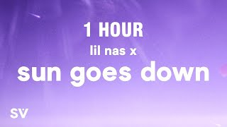 [1 HOUR] Lil Nas X - SUN GOES DOWN (Lyrics)