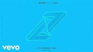 DJ Snake, Lauv - A Different Way (DEVAULT Remix/Audio)