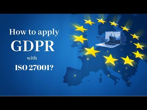 How can ISO 27001 help in achieving GDPR compliance? - YouTube