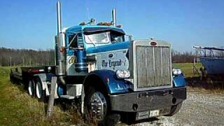 Cat c15 engine swap in a peterbilt truck most popular videos 1972 peterbilt 359m with caterpillar 1693ta cold start fandeluxe Image collections