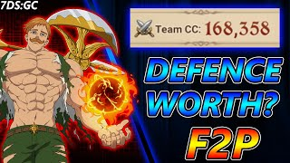 Is Defence Worth The Upgrade For CC? F2P 168,000 Combat Class ~ Seven Deadly Sins: Grand Cross