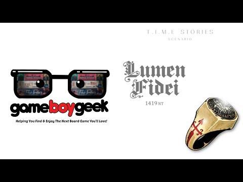 The Game Boy Geek Reviews Lumen Fidei