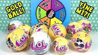 LOL Çarkıfelek Challenge - Eyvah Yine Mi Gold Ball?