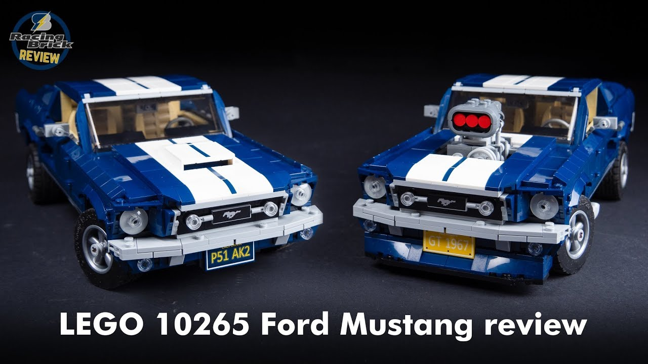 LEGO Creator Expert 10265 Ford Mustang unboxing, speed build and review