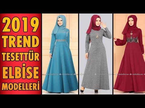 2019 #Trend Tesettür Elbise Modelleri   #Hijab #Dress   #tesettür #elbise #modaselvim