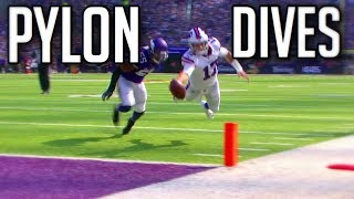 Best Pylon Dives In NFL History || HD
