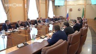 Рустам Минниханов и Марат Кабаев обсудили сотрудничество в сфере исламских финансов