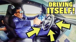 10 Things NOT To Do in a SELF-DRIVING CAR | Yes Theory