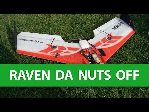 rag-da-nuts-off-the-raven-flying-wing--trimming-in-session