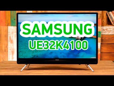 Samsung UE32K4100 - симпатичный телевизор для маленькой комнаты - Видео демонстрация