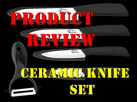 5 pc. Ceramic Knife Set, Product Review #3 – 3/9/16