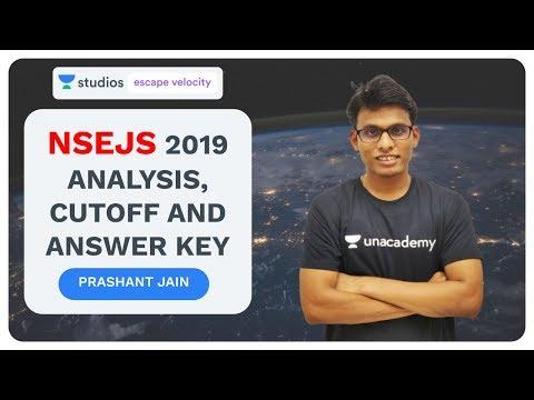 NSEJS 2019 Analysis, Cutoff and Answer Key | NSEJS Crash Course 2019 | Prashant Jain